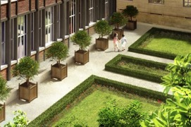 Entre cour et jardin : lieu de vie unique