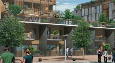 Au coeur d'un secteur résidentiel connecté à la ville