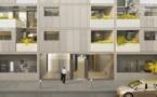 Loi Duflot à Paris 18ème, résidence neuve située rue Leibniz
